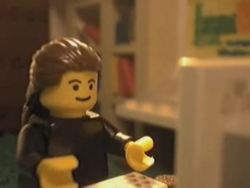 Night Owl's signature figure as seen in The Day Brickfilms.com Crashed