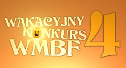 The logo of Wakacyjny Konkurs WMBF 4, the last edition of the contest
