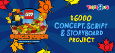 """LEGO Toys """"R"""" Us Bricktober Concept, Script and Storyboard Project.png"""