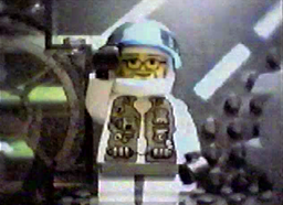 Al puts on his spacesuit to go to work