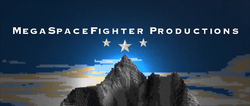 The MegaSpaceFighter Productions logo