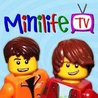 The signature figures of Ian and Chris, and the main characters of Minilife TV