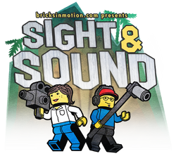 The Sight & Sound logo, designed by Philip Heinrich and Danielle DeMartini