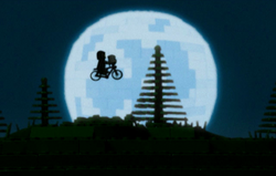 Jay Silver's recreation of a scene from E.T.