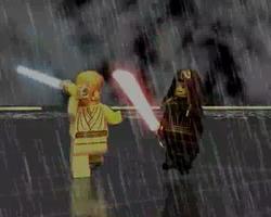 Obi-Wan faces off against a foe