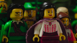 Mary Charles as Lady Marian in Robin Hood - Developments