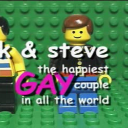 Brickfilms that received legal attention from The LEGO Group