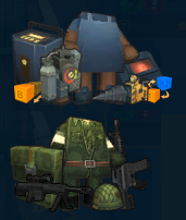 Builer's and Soldier's sets