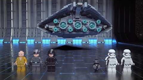 First Order Star Destroyer - LEGO Star Wars - 75190 - Product Animation