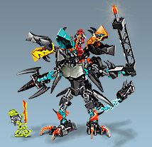 Jaw, Flyer and Splitter Beast Combi Model LEGOcom
