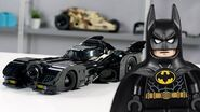 LEGO 1989 Batmobile Designer Video Exclusive LEGO Minifigures 76139