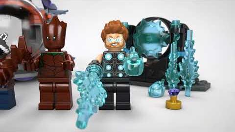Thors Weapon Quest - LEGO Marvel Super Heroes - 76102 Product Animation