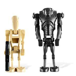 Battle Droid vs Super Battle Droid