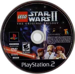 LEGO Star Wars II-The Original Trilogy PS2 set