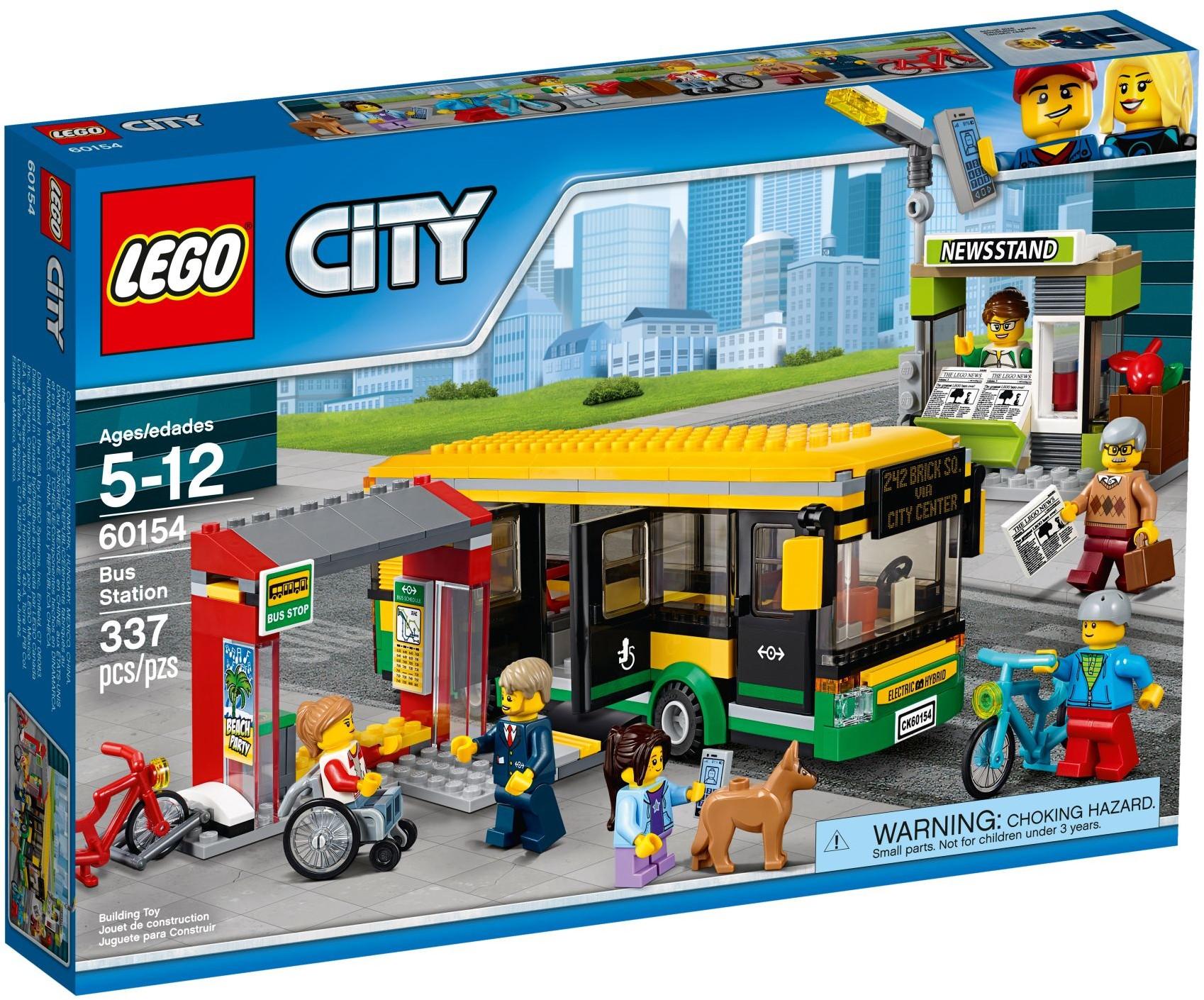 60154 Автобусная остановка