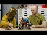 LEGO Ideas Medieval Blacksmith 21325 - LEGO Designer Video