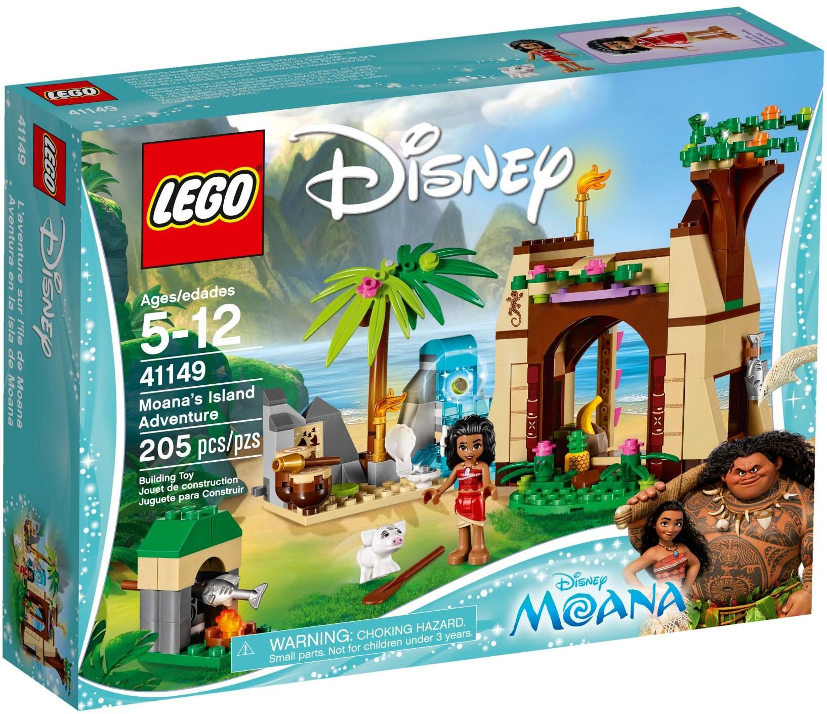 41149 Приключения Моаны на затерянном острове