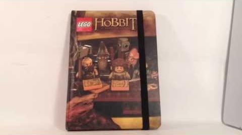LEGO The Hobbit Notebook