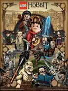 Mike-Sutfin-Desolation-of-Smaug-Lego-Poster