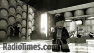Lego Patrick Troughton's Tardis