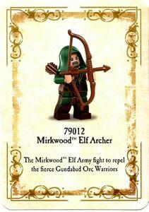 Mirkwood Elf Archer - kaart