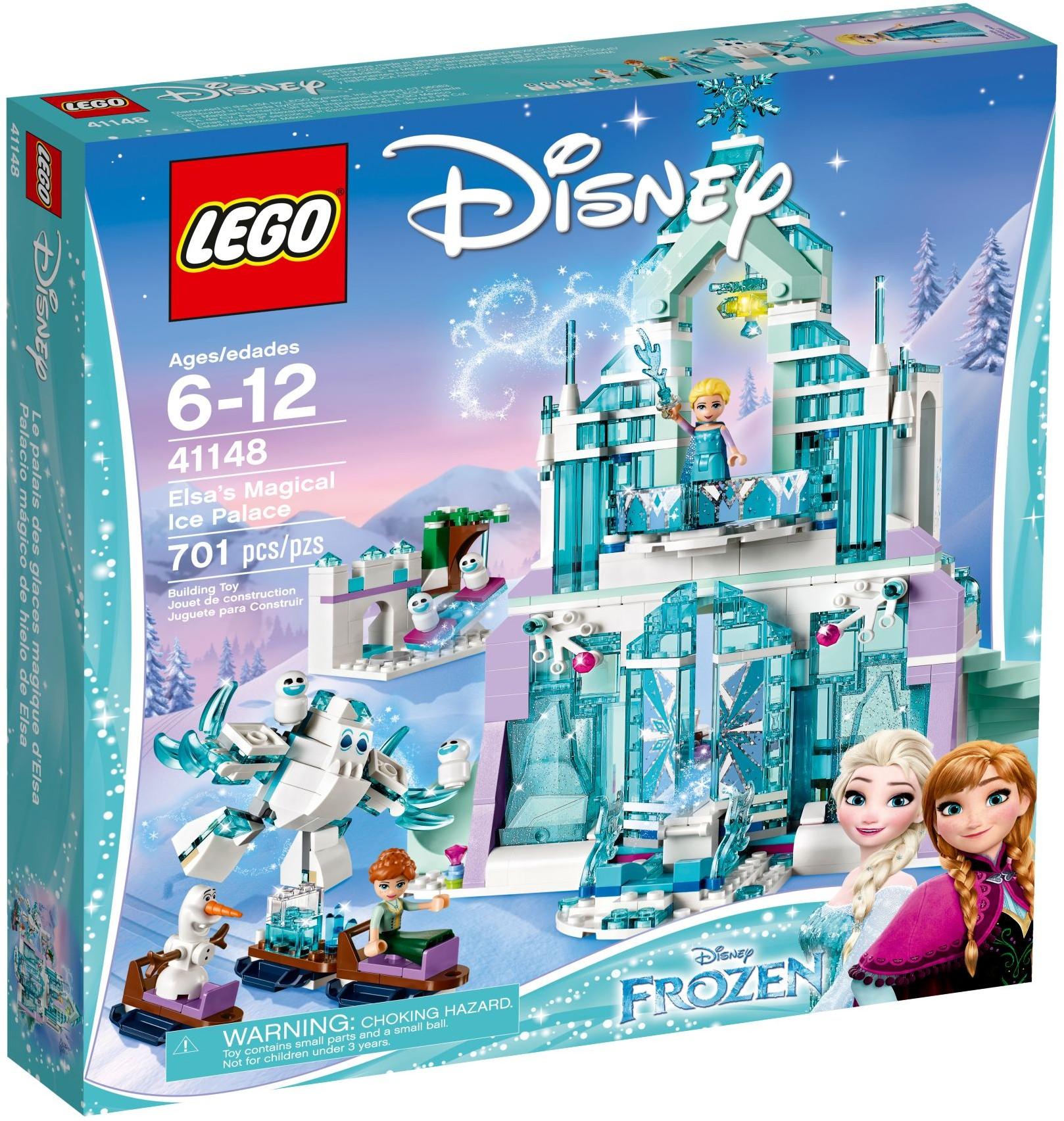 41148 Волшебный ледяной замок Эльзы