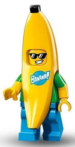 Мальчик в костюме банана