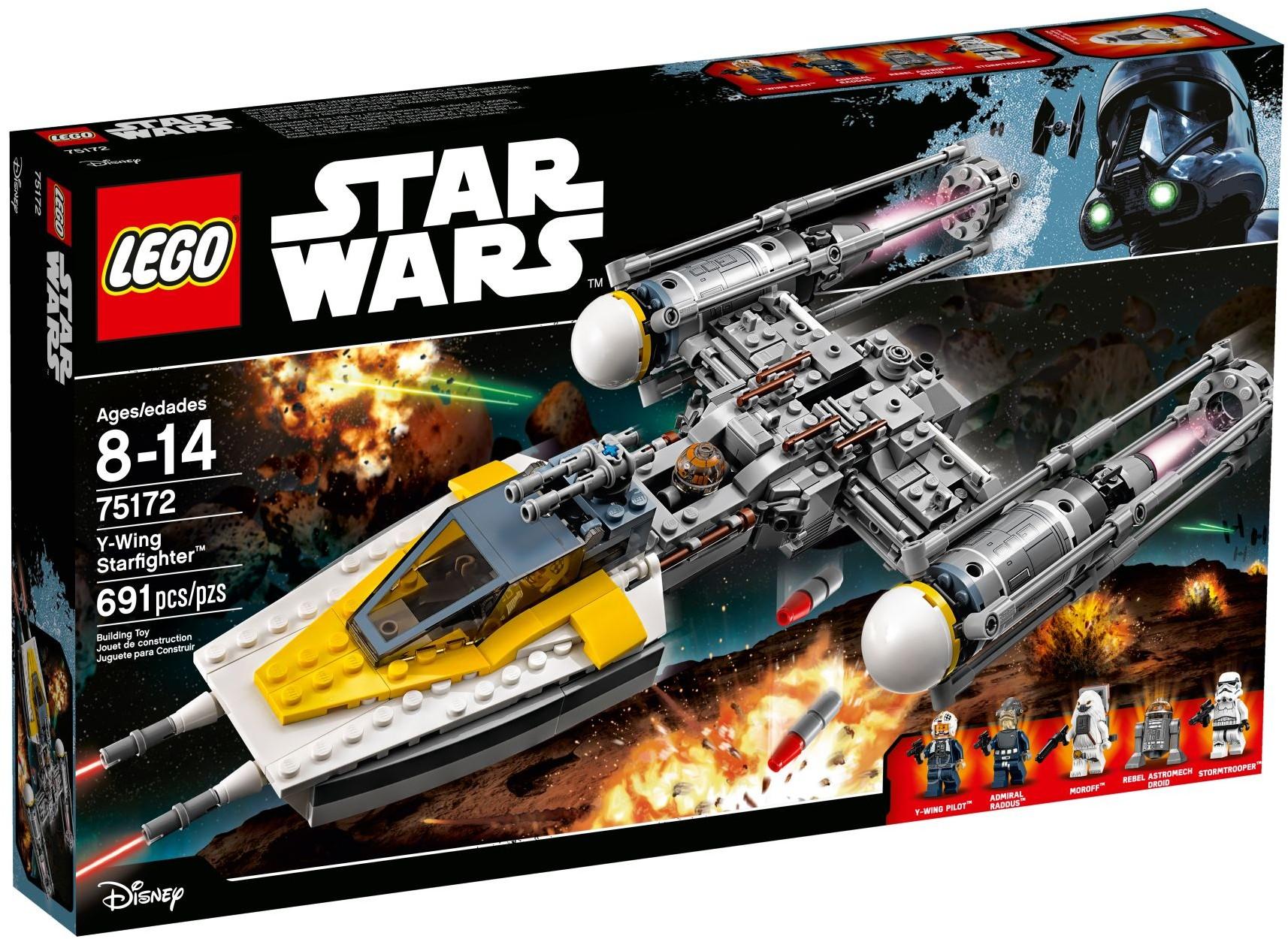 75172 Истребитель Y-wing