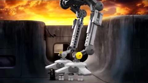 LEGO Star Wars 75083 AT-DP 3D LEGO Review