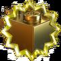 Золотой кубик