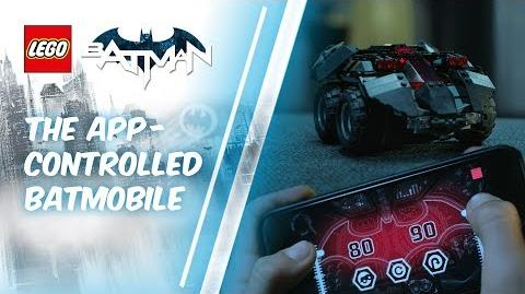 App-Controlled Batmobile – LEGO DC Super Heroes - 76112