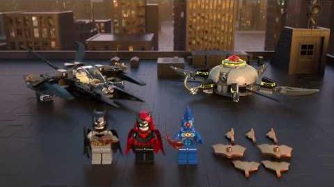 Batman & Brother Eye Takedown - LEGO DC Super Heroes - 76111 Product Animation