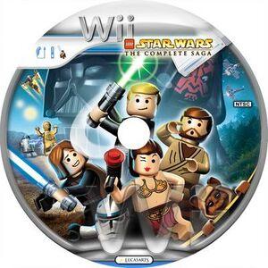LEGO Star Wars-The Complete Saga Wii disc