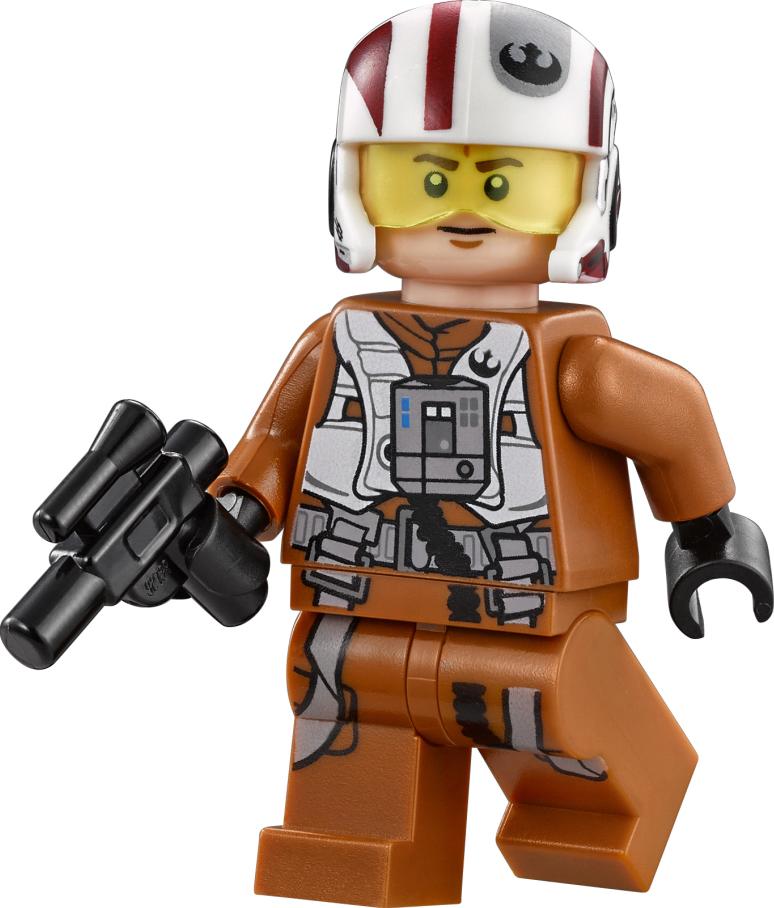 Пилот X-wing Сопротивления