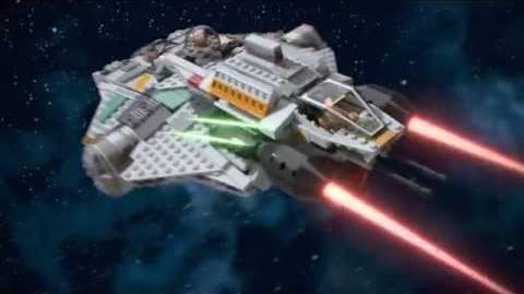 LEGO Star Wars 75048 The Phantom LEGO 3D Review