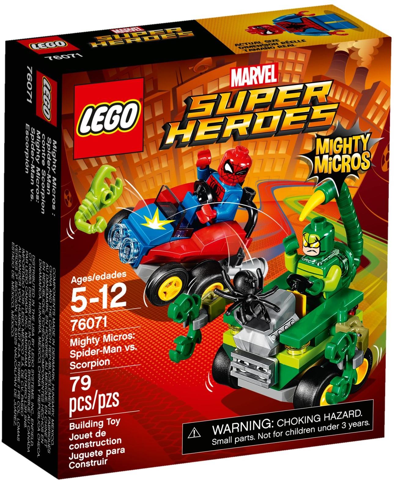 76071 Человек‑паук против Скорпиона