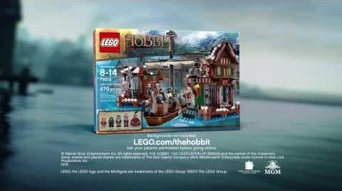 Lake-Town Chase 79013 - LEGO The Hobbit
