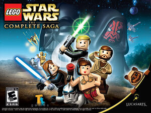 LEGO Star Wars-The Complete Saga Wallpaper