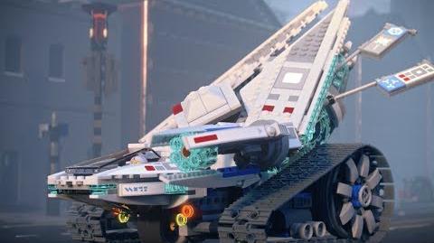 Ice Tank - LEGO NINJAGO Movie - 70616 - Product Animation