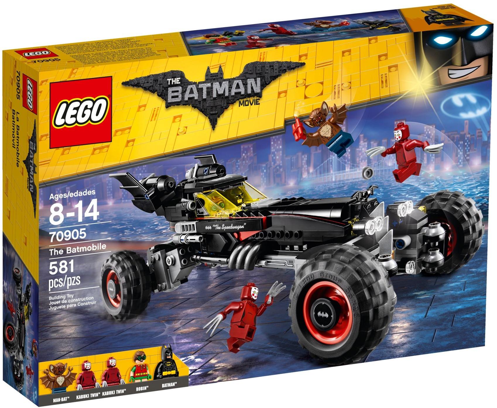 70905 Бэтмобиль