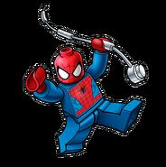 Box art spiderman