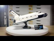 LEGO NASA Space Shuttle Discovery - LEGO Designer Video 10283