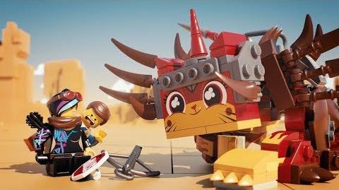 Ultrakatty & Warrior Lucy! - THE LEGO MOVIE 2 - 70827 Product Animation