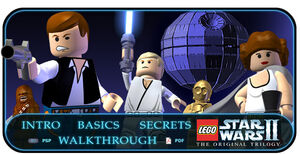 LEGO Star Wars II-The Original Trilogy NGC scherm