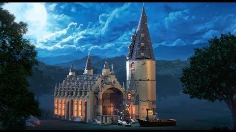 Hogwarts Great Hall – LEGO HARRY POTTER – 75954 Product Animation