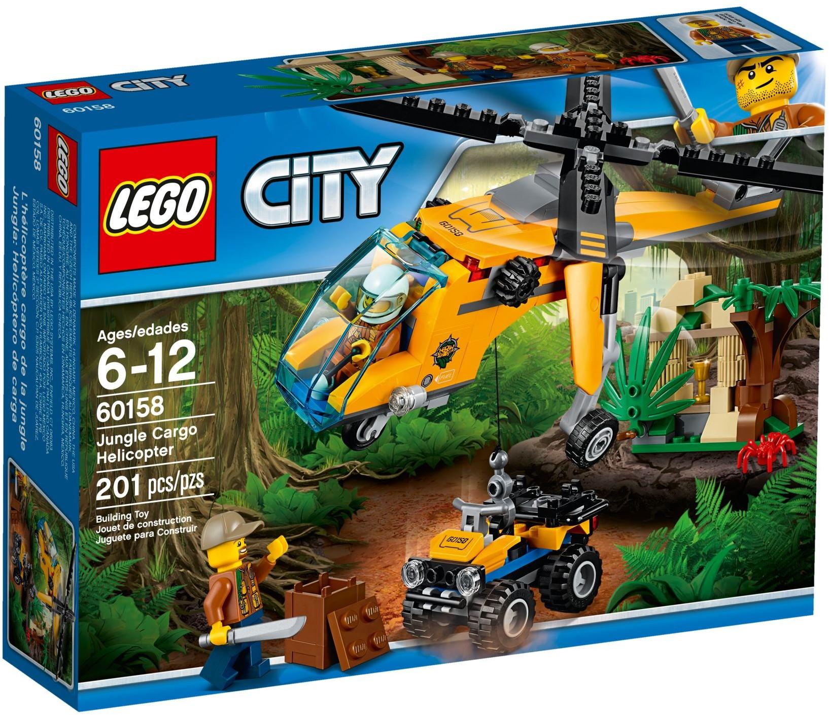 60158 Грузовой вертолёт исследователей джунглей