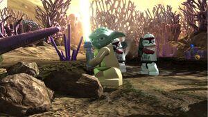 LEGO Star Wars III The Clone Wars game 3