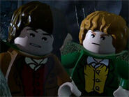 Merry and Frodo