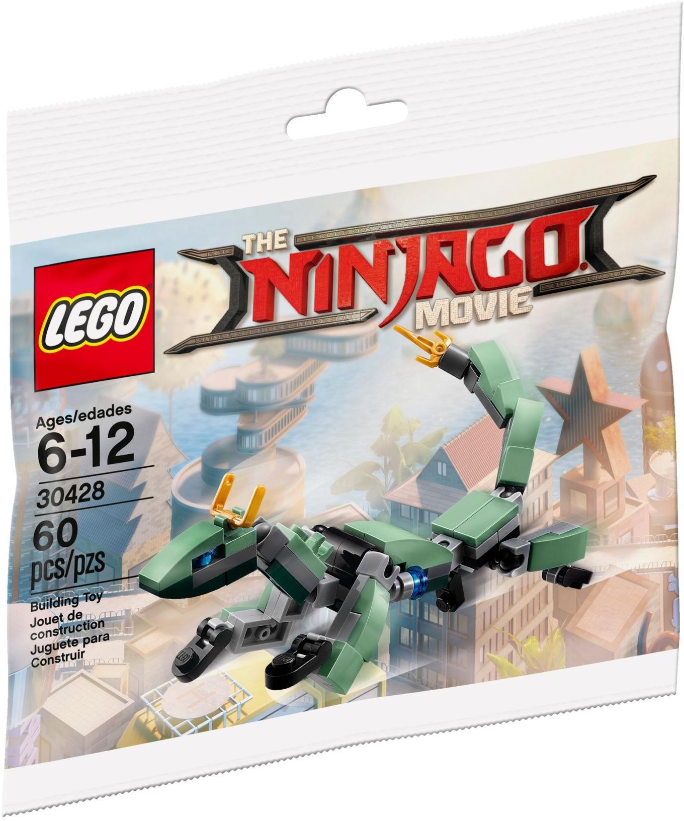 30428 Механический дракон Зелёного ниндзя