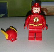 Flash no helmet angry